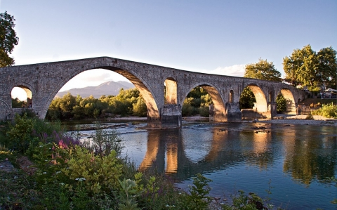 Arta Bridge Epirus Greece